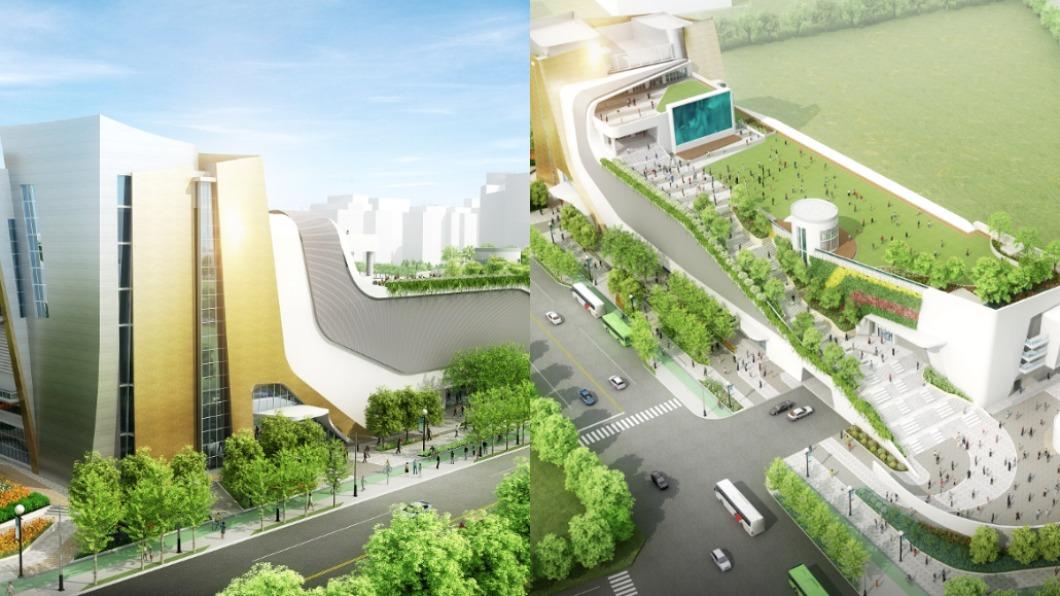 中台灣電影中心預計在2021年底開幕。(圖/台中市政府官網) 台中新地標年底登場 「中台灣電影中心」4大區域搶先看