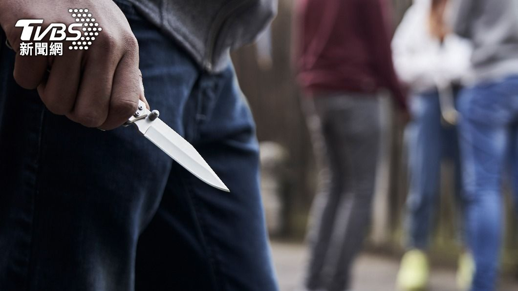 示意圖/shutterstock 達志影像 快訊/北市大安區驚傳砍人 外籍女持刀刺老翁