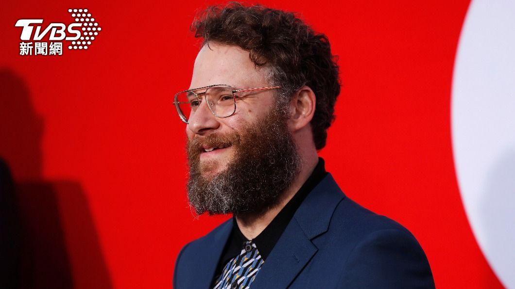 賽斯羅根出席監製電影「好小男孩」首映會。(圖/達志影像路透社) 官方認證「大麻專家」!塞斯羅根出書 網笑翻喊期待