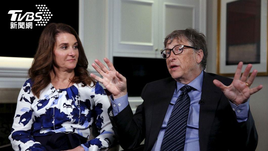 比爾蓋茲和妻子梅琳達宣布離婚。(圖/達志影像路透社) 比爾蓋茲夫妻宣布離婚 但繼續合作慈善事業