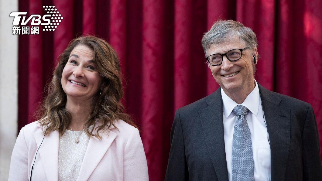 比爾蓋茲與妻子梅琳達育有2女1子,兩人過去時常攜手出席慈善活動。(圖/達志影像路透社) 比爾蓋茲離婚 3.5兆財產怎分配引外界關注