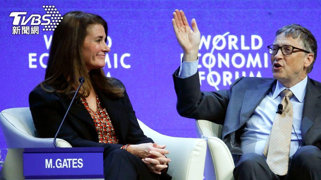 美國微軟公司創辦人比爾.蓋茲和妻子梅琳達離婚,牽涉後續複雜的財產分配。(圖/達志影像路透社) 比爾蓋茲夫妻結縭27年離異 牽涉複雜財產分配