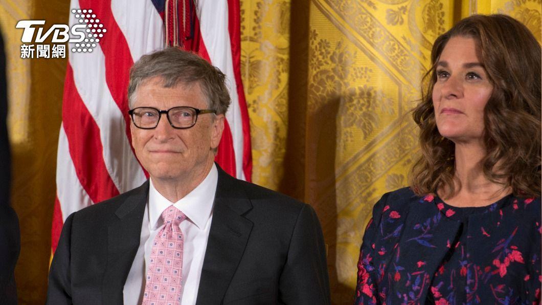 比爾蓋茲和妻子梅琳達宣布結束婚姻。(圖/達志影像美聯社) 比爾蓋茲突拋離婚震撼彈 大女兒發文吐心聲