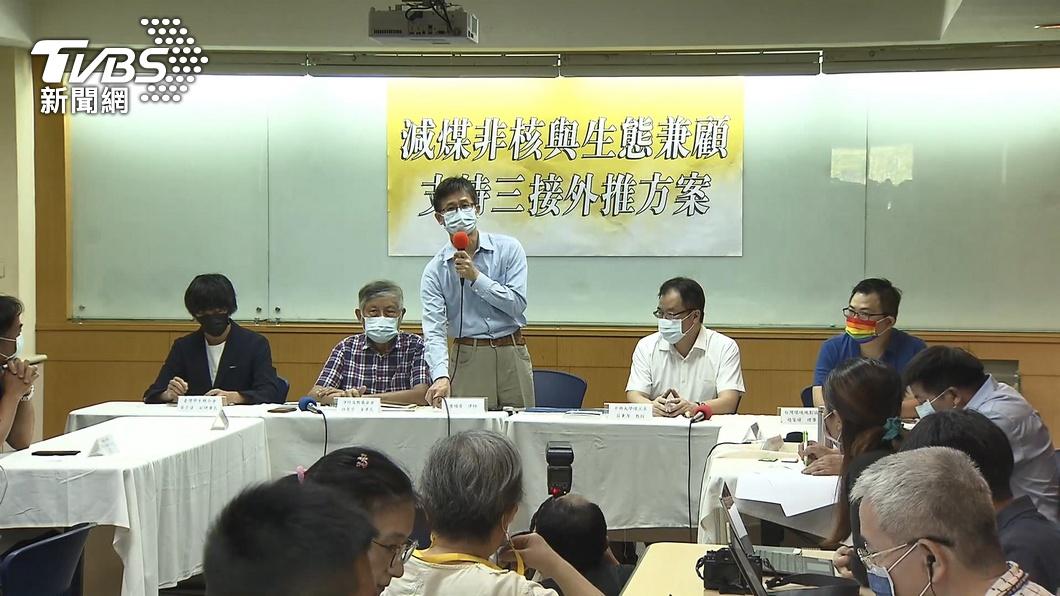 圖/TVBS 環團被分化?! 詹順貴等人挺「三接外推」