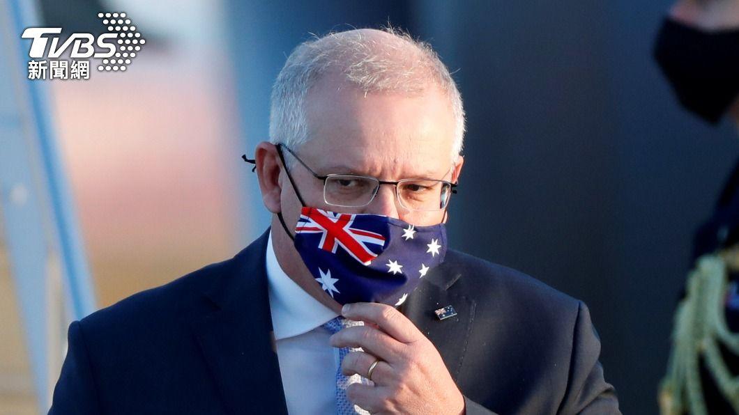 澳洲總理莫里森。(圖/達志影像路透社) 澳洲禁在印度國民返國掀波 總理:我是保護邊界
