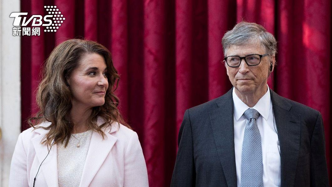 比爾蓋茲和梅琳達結束27年婚姻。(圖/達志影像路透社) 梅琳達與比爾蓋茲離婚 花22年摸索女性主義之路
