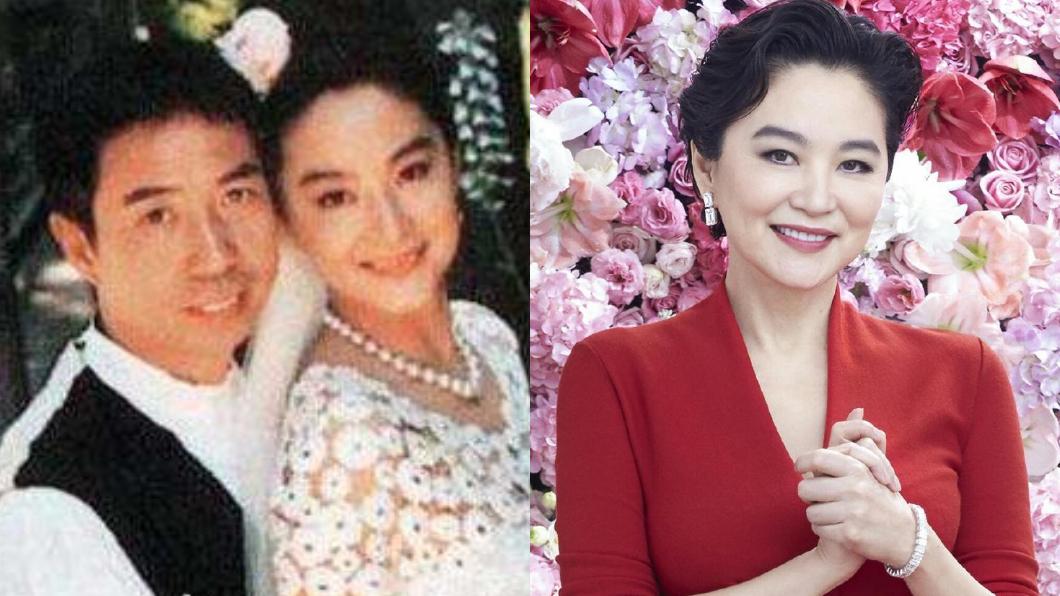 林青霞1994嫁給富商邢李㷧。(圖/翻攝自微博) 林青霞爆拿80億離婚 知情人洩「密友反應」:心裡有數
