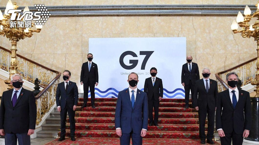 G7外長:支持台參與世衛論壇 重視台海和平