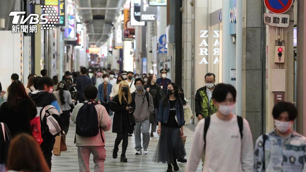 日本疫情嚴峻。(圖/達志影像美聯社) 日本疫情仍持續擴大 擬延長實施緊急事態宣言