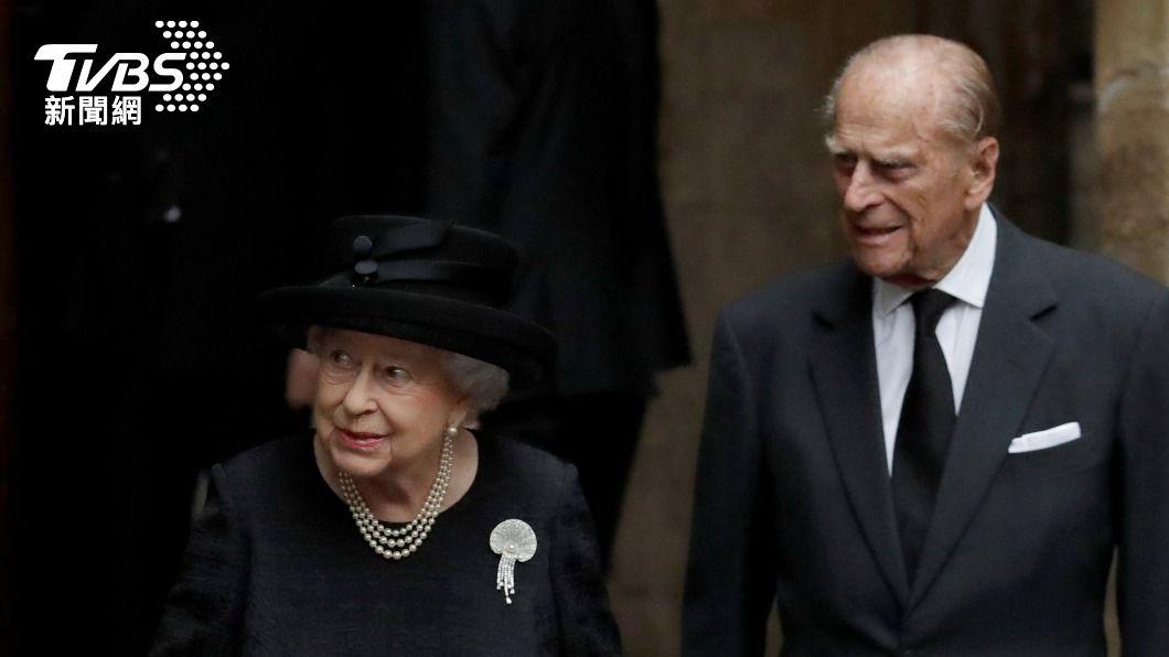 英女王丈夫菲立普親王上月辭世。(圖/達志影像路透社) 菲立普親王享耆壽99歲 英媒:死亡證明書填寫老死