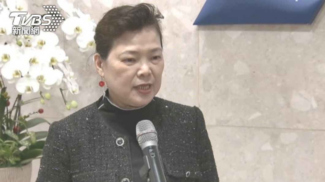 經濟部長王美花。(圖/TVBS) 梅雨可解除供5停2? 王美花:降雨不理想、限水到月底