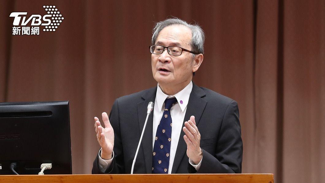 原能會主委謝曉星。(圖/中央社) 反對福島核廢水排放 原能會:做該做事情