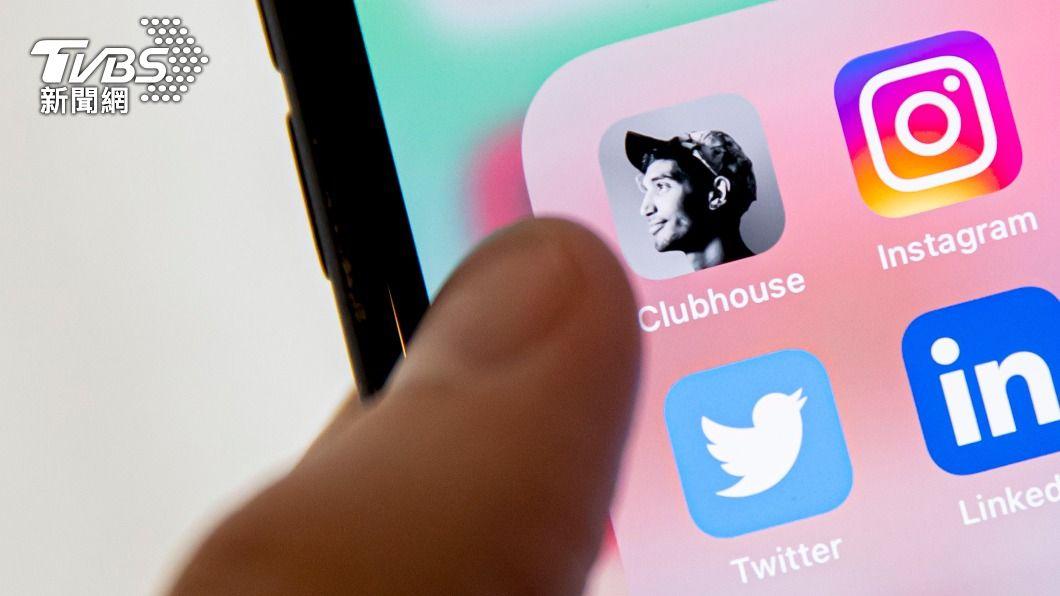 Clubhouse在今年2月初突然爆紅,創下單月960萬的驚人下載數。(圖/達志影像美聯社) Clubhouse熱潮不再 4月下載數暴跌66%