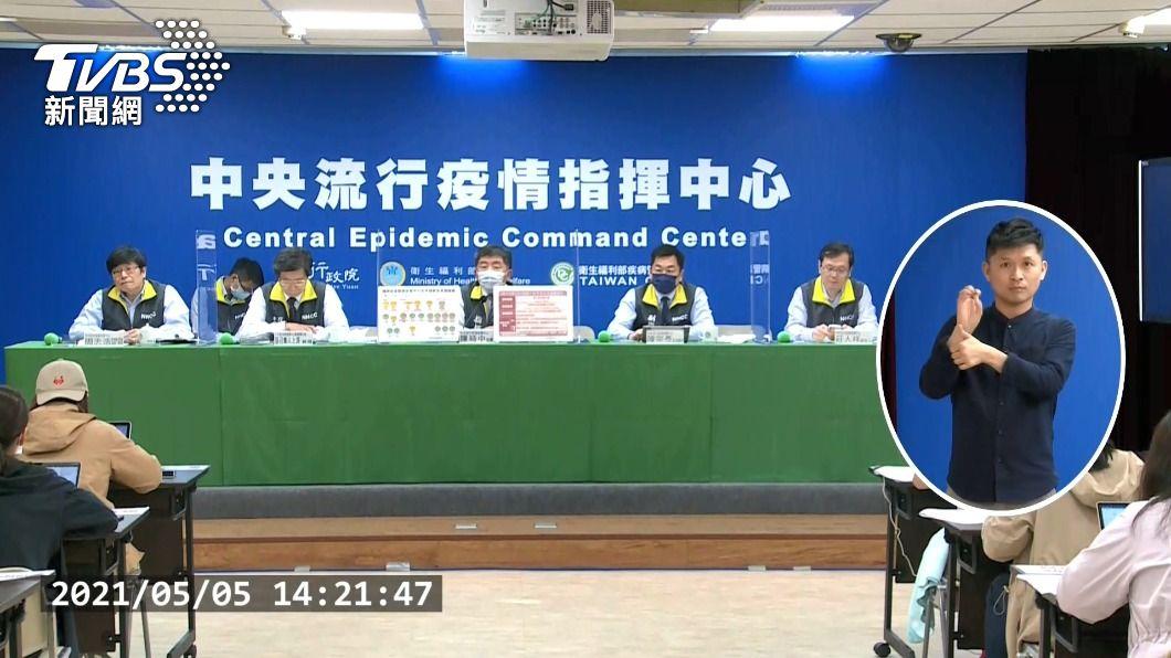 (圖/TVBS) 華航諾富特重症病例好轉 張上淳:可病房內跑步了
