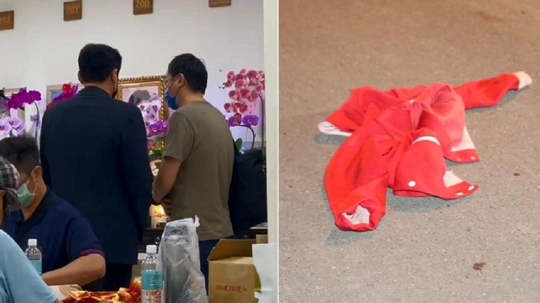 警方證實車禍死者是黃暐瀚的母親。(圖/TVBS、翻攝自黃暐瀚臉書) 母親節前痛失愛母!黃暐瀚「緊握遺物」悲拉冰櫃:媽不痛了