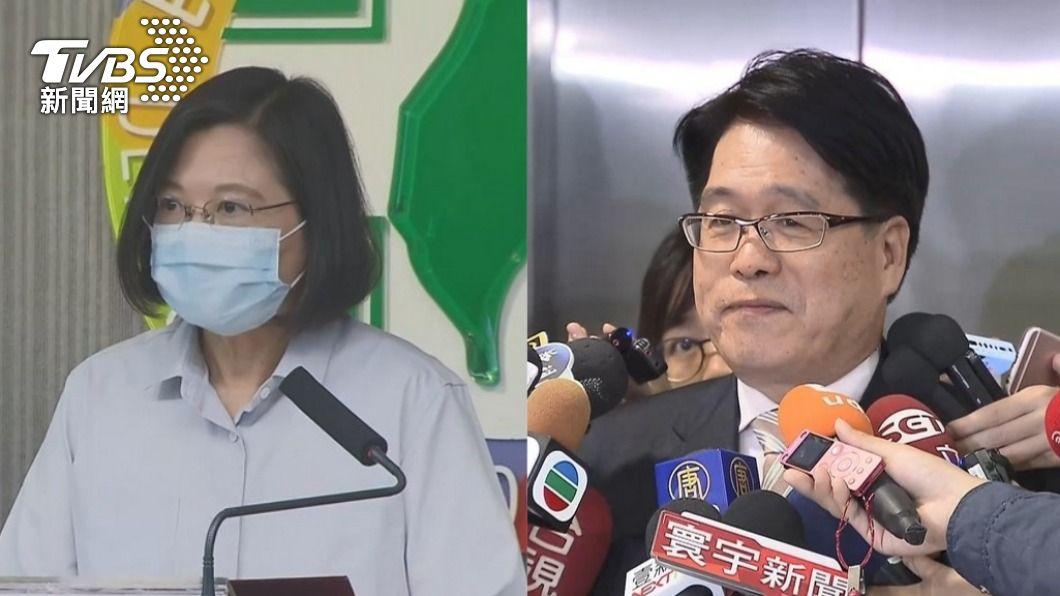 游盈隆認為蔡英文應辭去黨主席一職。(圖/TVBS資料畫面) 「任黨魁9年漠視黑道入黨」 他籲蔡英文:抱歉就請辭