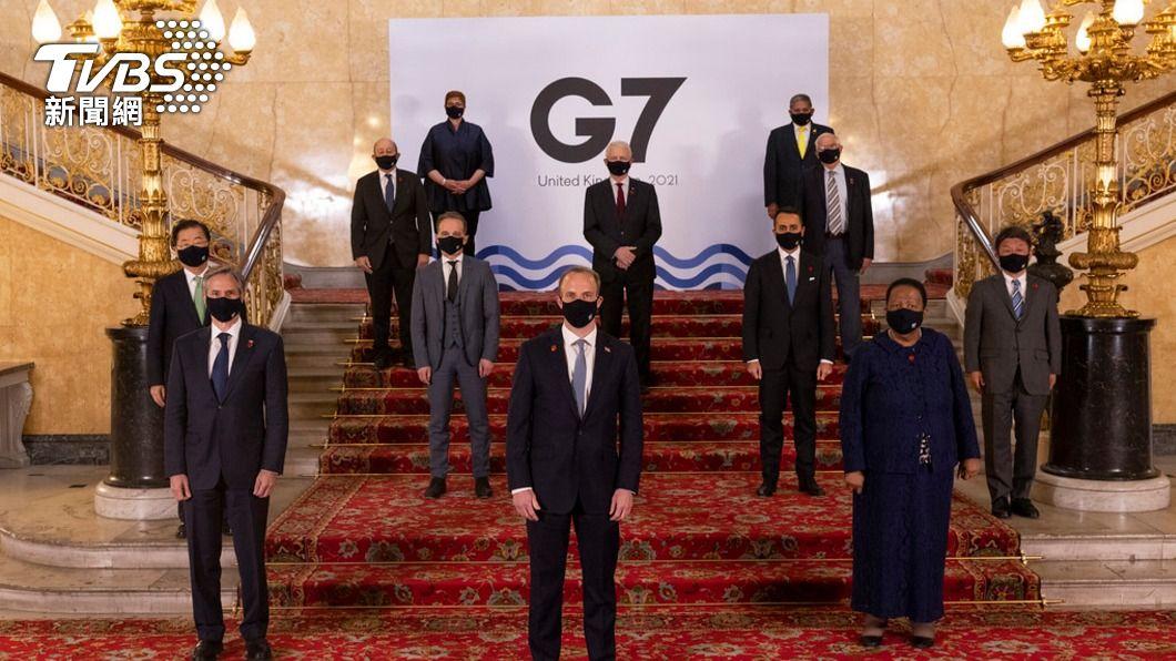 G7外長會議。(圖/中央社) G7外長會議公報首列台灣 府:感謝對台堅定支持