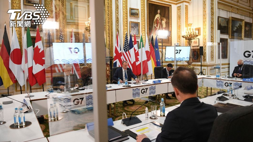 G7外長會議。(圖/達志影像美聯社) G7外長WHA前夕發聲挺台參與 外交部:意義重大
