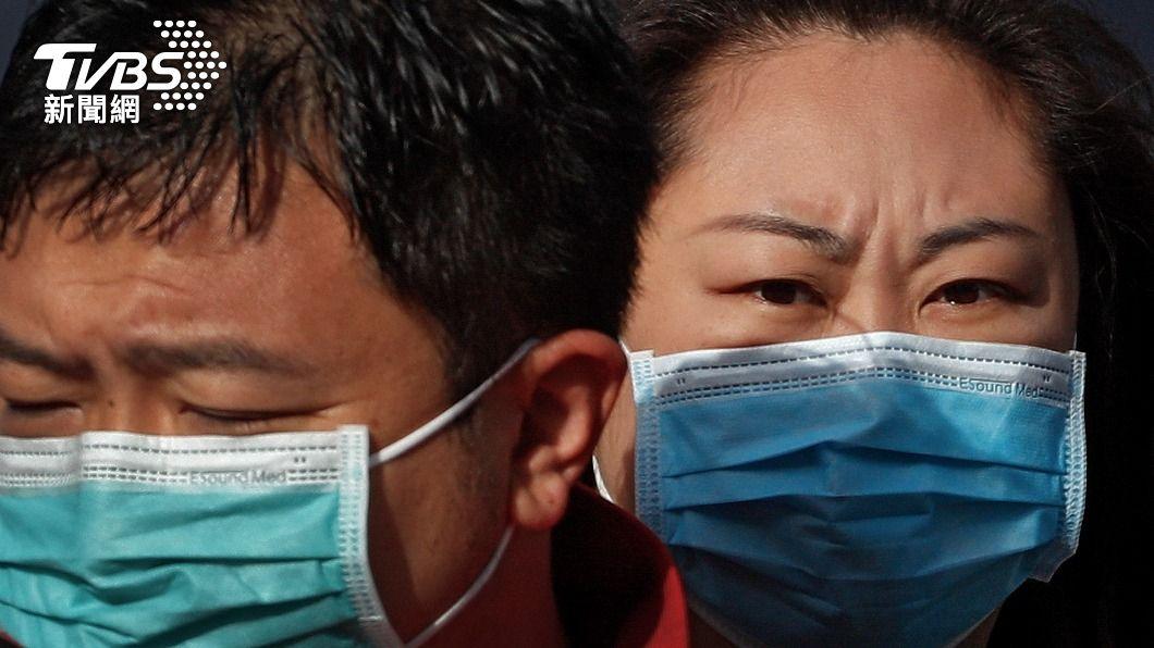 中國今日新增境外確診案例5例。(圖/達志影像美聯社) 大陸新增5例新冠肺炎確診 都從境外移入