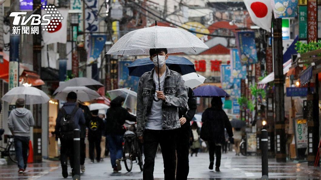 (圖/達志影像路透社) 日本緊急事態宣言將延長2週到1個月 7日正式決定