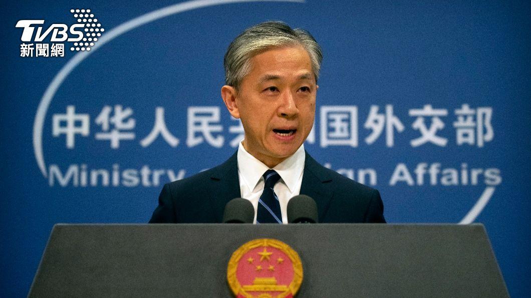 陸外交部發言人汪文斌。(圖/達志影像美聯社) G7外長會議公報指北京是霸凌者 大陸強烈譴責
