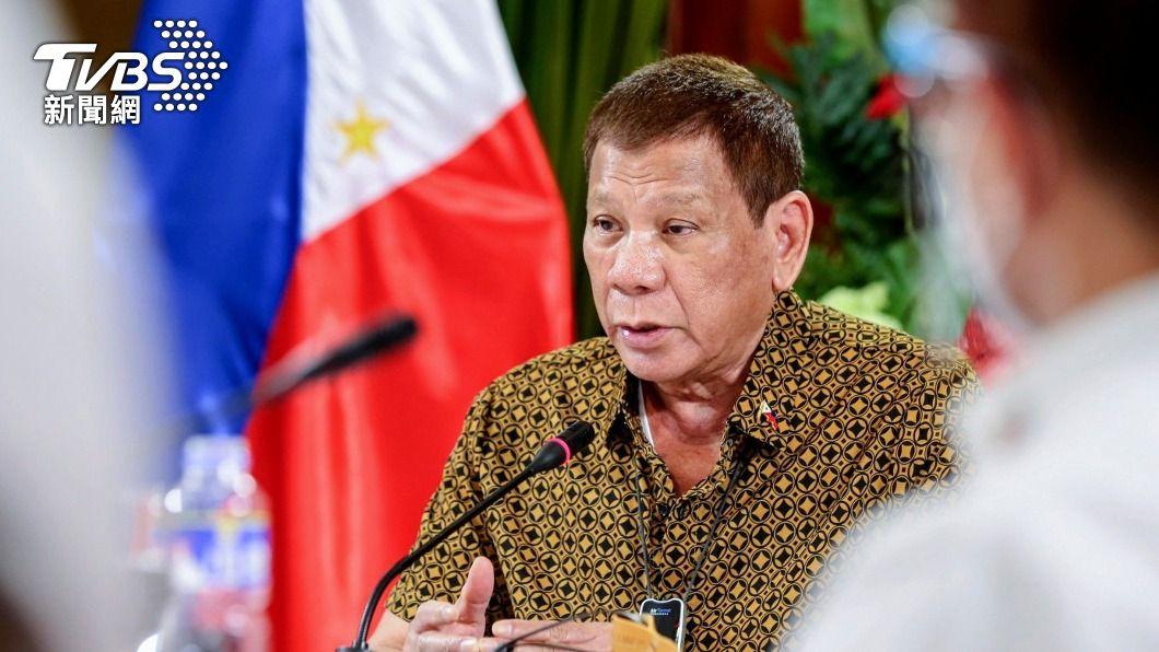 菲律賓總統杜特蒂。(圖/達志影像路透社) 遭對手批未堅定護主權 杜特蒂:南海裁決是廢紙