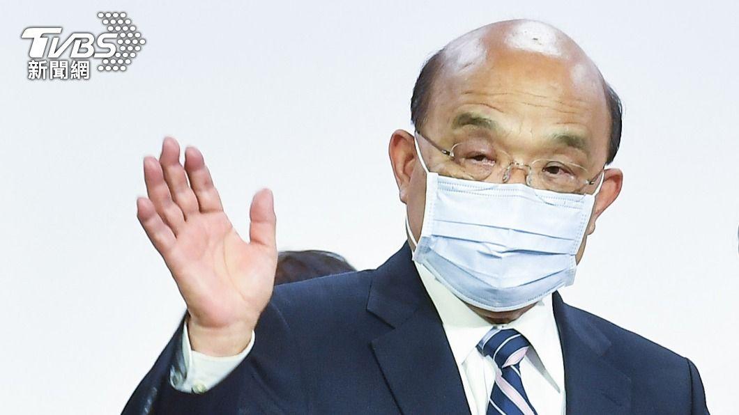 行政院長蘇貞昌。(圖/中央社) 法參議院挺台參與國際 蘇貞昌:很感謝也會更努力