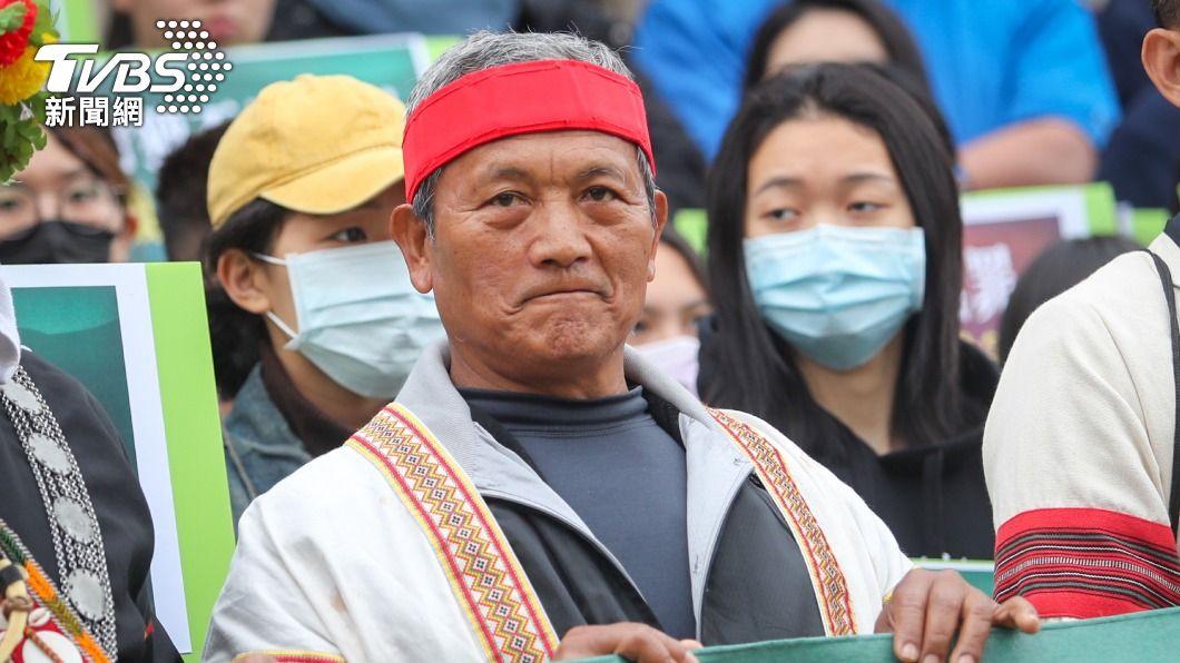 王光祿。(圖/中央社) 總統特赦 王光祿非常高興狂問:真的嗎