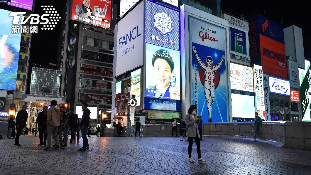 (圖/達志影像美聯社) 日本大阪新增逾千例確診 單日50人染疫死創新高