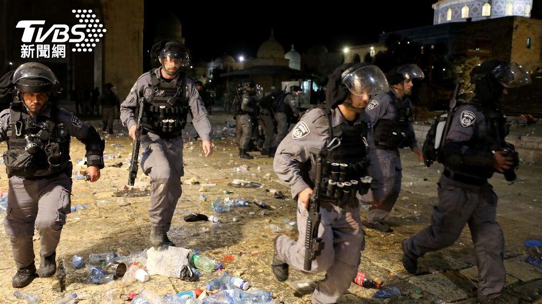 耶路撒冷清真寺區爆以巴衝突 十多人受傷