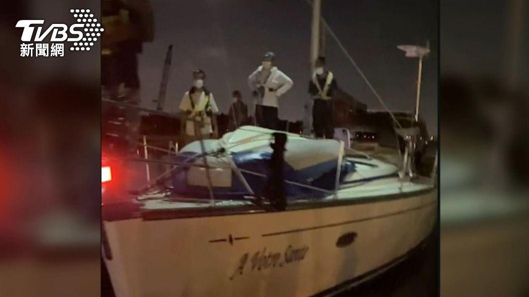 7人馬國買遊艇入安平港 上岸手續後居檢