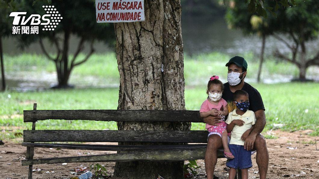 巴西單日新增確診逾6萬人。(圖/達志影像路透社) 巴西逾1514萬人染疫  確診人數居全球第三高