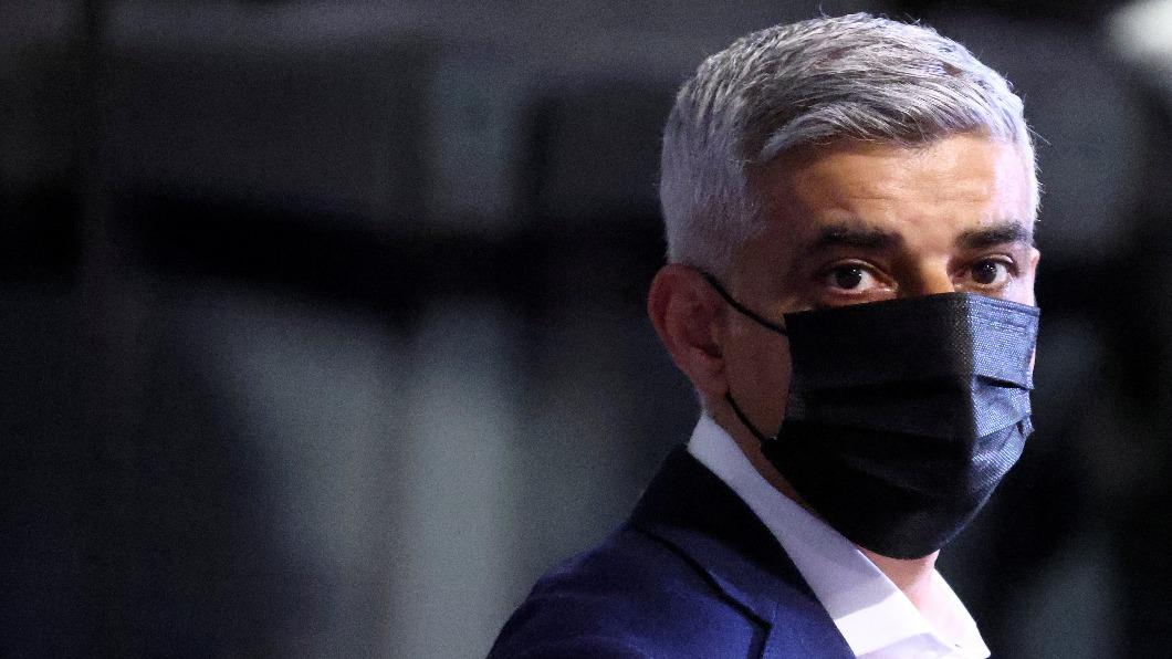 英國倫敦市長沙迪克汗成功連任。(圖/達志影像路透社) 倫敦市長沙迪克汗成功連任 誓言化解脫歐分歧