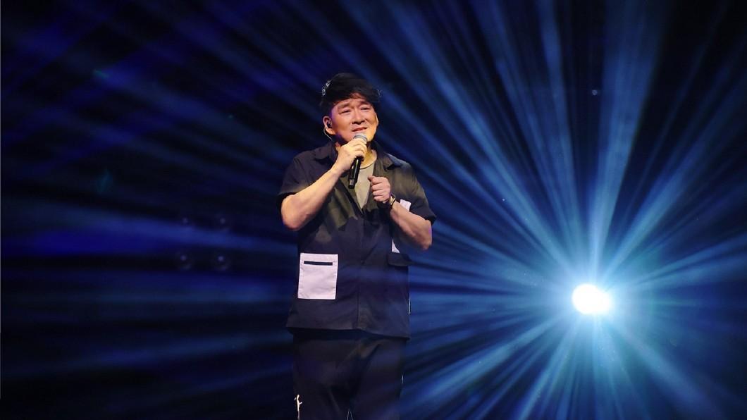 周華健在演唱會上透露有引退想法。(圖/滾石唱片提供) 才開演唱會!周華健突爆「封麥時間點」:早有退休想法