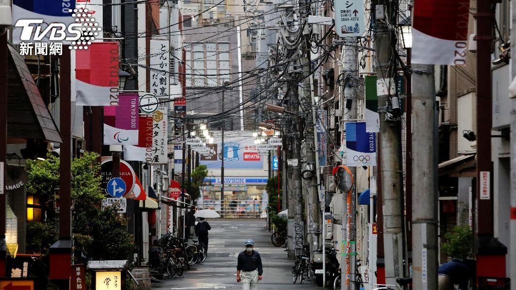 日本疫情嚴峻。(圖/達志影像路透社) 日本新冠重症人數再創新高 疫情朝地方蔓延