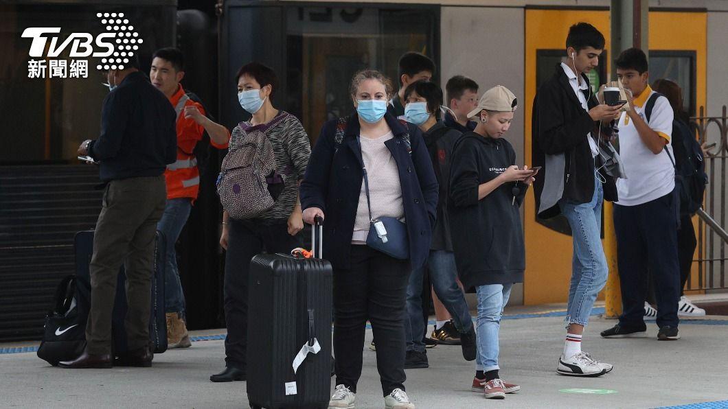澳洲疫情逐漸趨緩。(圖/達志影像路透社) 澳洲疫情緩解 紐西蘭恢復兩國旅遊泡泡計劃