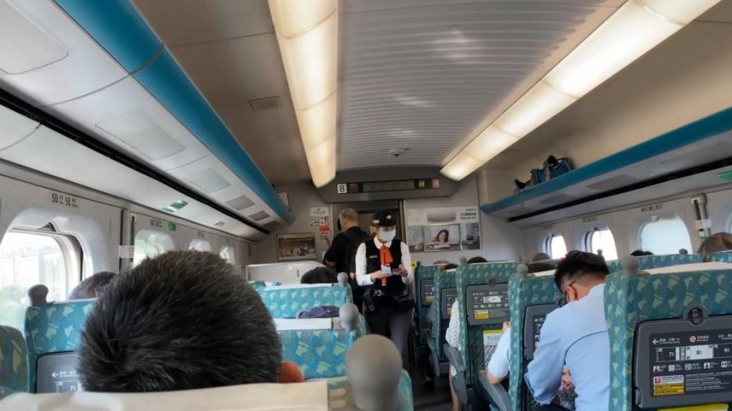 高鐵上班日車站道岔訊號異常,板橋左營之間列車延誤。(圖/民眾提供) 週一上班日高鐵就訊號異常 板橋左營間列車延誤
