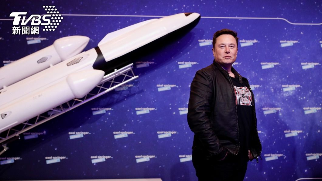 SpaceX執行長馬斯克。(圖/達志影像美聯社) SpaceX將啟動登月任務 接受狗狗幣Dogecoin付款