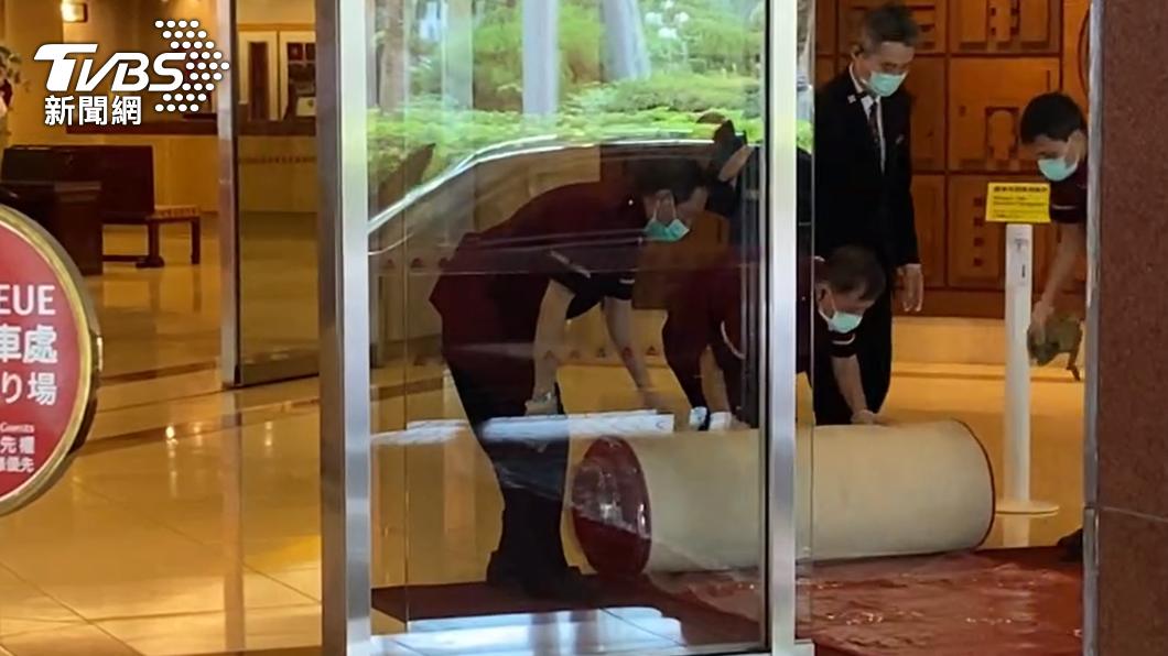 染疫機師曾赴台北福華大飯店。(圖/TVBS) 不斷更新/華航案足跡懶人包 機師赴台北福華、南港餡老滿