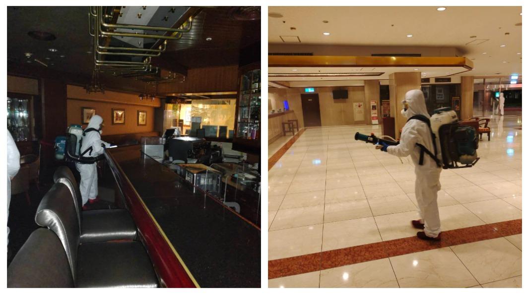 染疫機師曾經前往台北福華飯店的七賢吧,飯店表示已經立即做好消毒工作。(圖/福華飯店提供) 染疫機師足跡!福華飯店七賢吧、餡老滿急消毒 停業7天