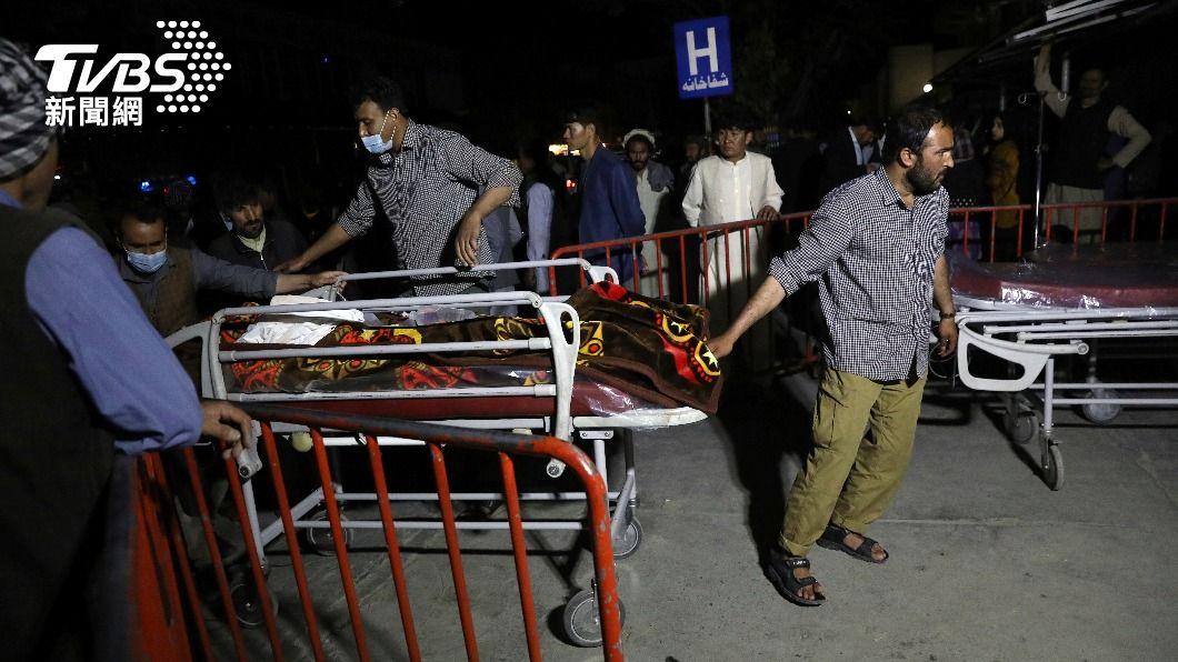 阿富汗一所學校外圍遭炸彈攻擊釀死傷。(圖/達志影像美聯社) 喀布爾爆炸案剛過 塔利班宣布開齋節停火3天