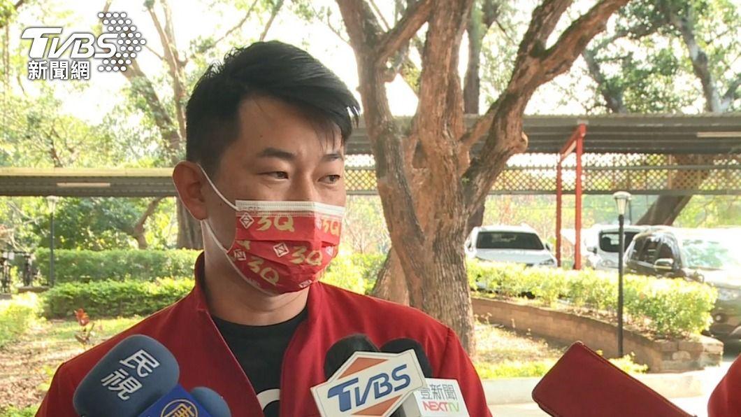 台灣基進立委陳柏惟。(圖/TVBS) 罷免案交二階連署書 陳柏惟:持續理性討論議題
