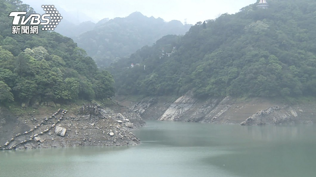 台灣面臨50多年來最嚴重乾旱,各地水庫水情不佳。(圖/TVBS) 水情嚴峻「水鬼會被蒸發?」 民俗專家道真相