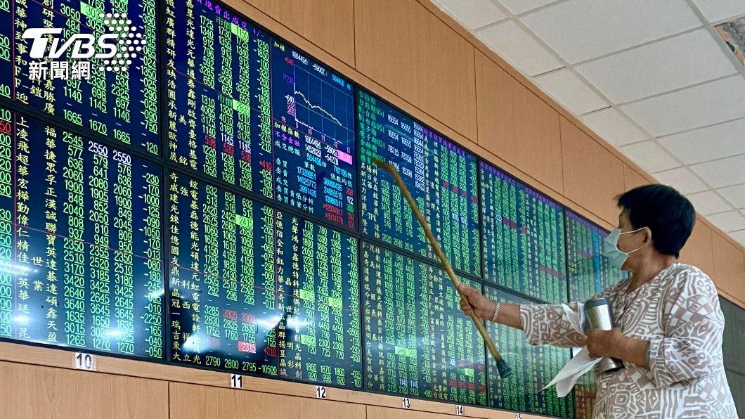(圖/中央社) 台股暴跌652點 爆7148億天量守住季線