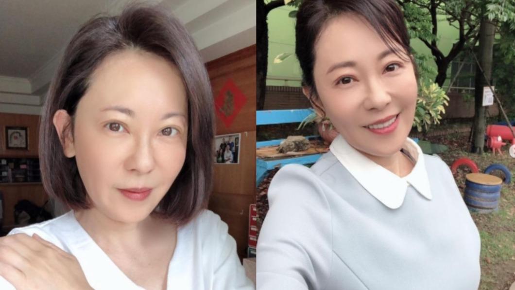 54歲的況明潔外型仍保養得宜。(圖/翻攝自mingjie.kuang IG) 美魔女況明潔幾乎無眼袋皺紋 素顏肌打趴年輕妹