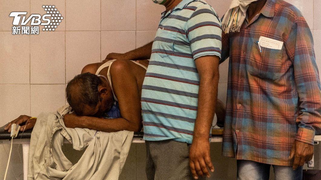 11病患集體缺氧斷氣 印度確診數逼近全台人口