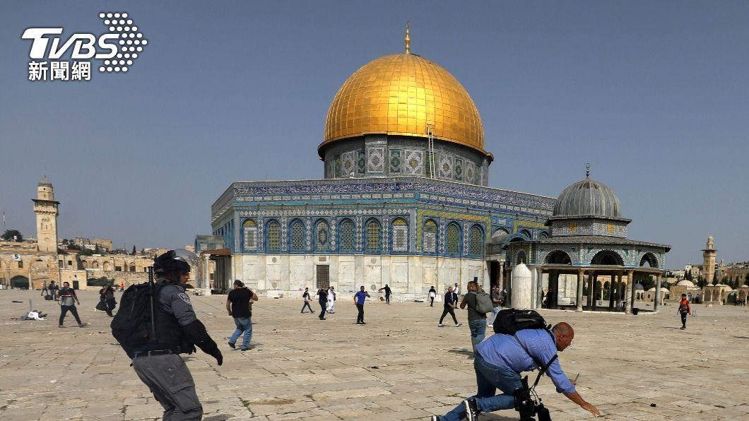 以色列與巴勒斯坦爆發嚴重衝突。(圖/達志影像路透社) 以巴爆數年最激烈衝突 分析:埋新一波起義種子