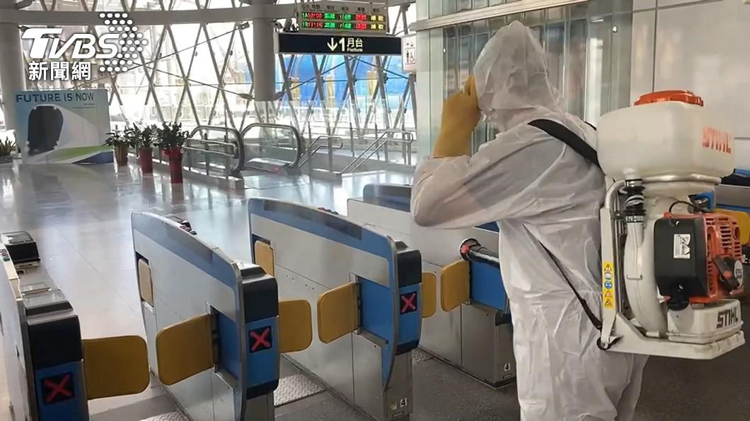 基隆火車站。(圖/TVBS) 基隆確診者曾搭遊覽車到高雄進香 詳細地點待掌握