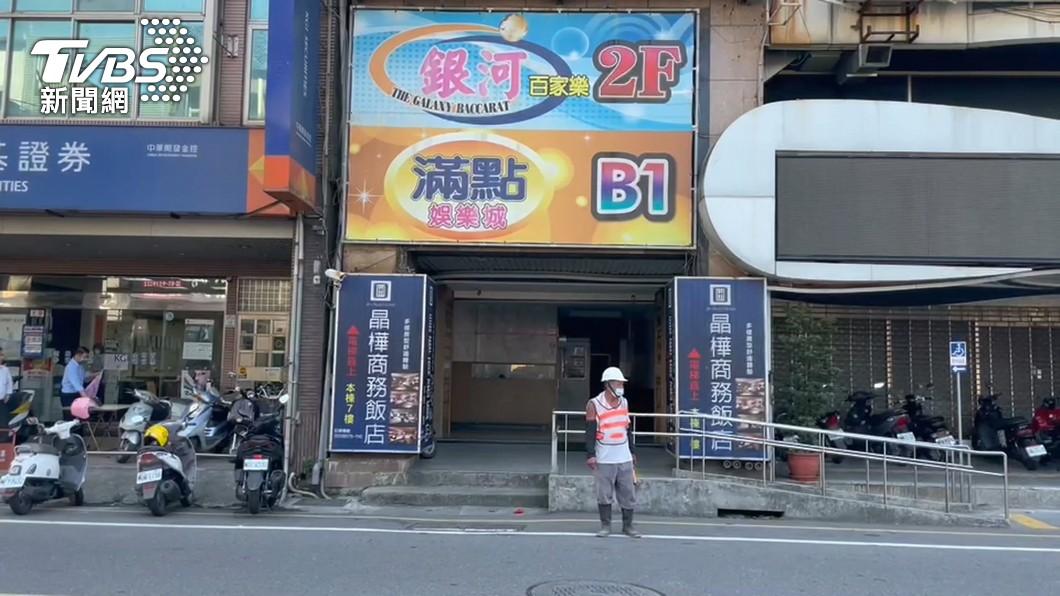 銀河百家樂遊藝場累計8例確診。(圖/TVBS) 不斷更新/本土爆發!宜蘭遊藝場8確診 全台足跡懶人包
