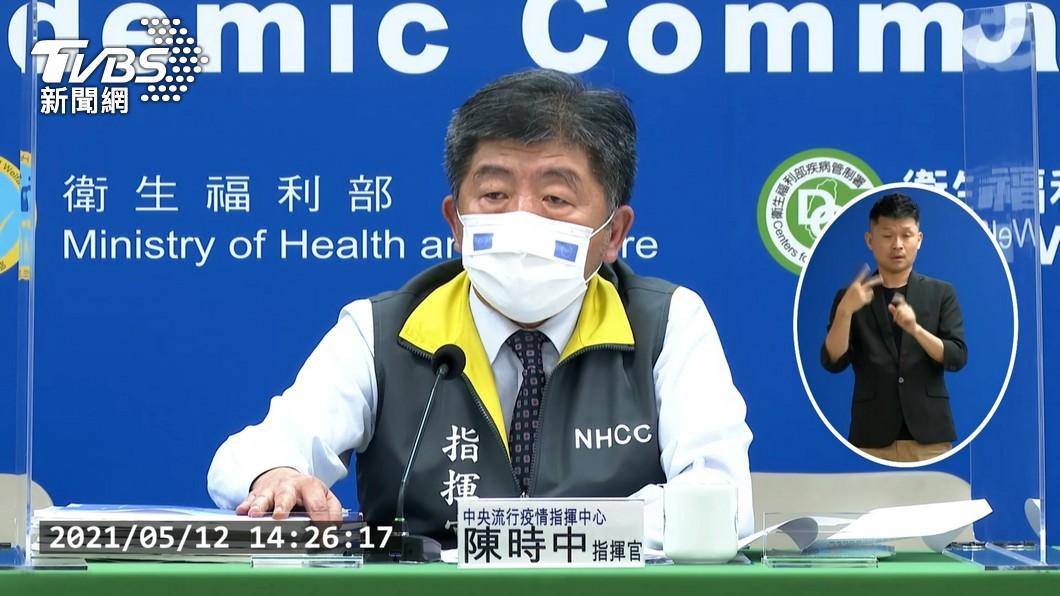 中央流行疫情指揮中心指揮官陳時中。(圖/TVBS) 陳時中立院受訪 升級三級防疫機會下降